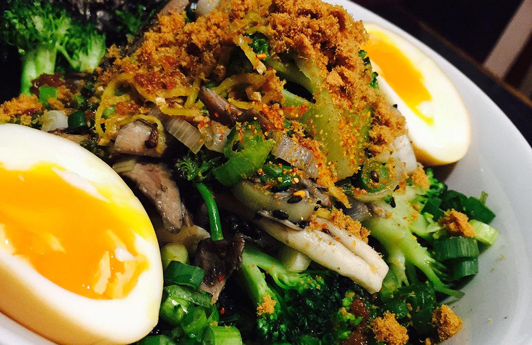 Super Quick Ramen with Soya Egg