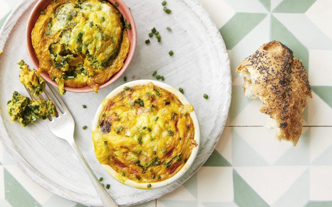 Rhiannon Lambert's Baked Turmeric Eggs