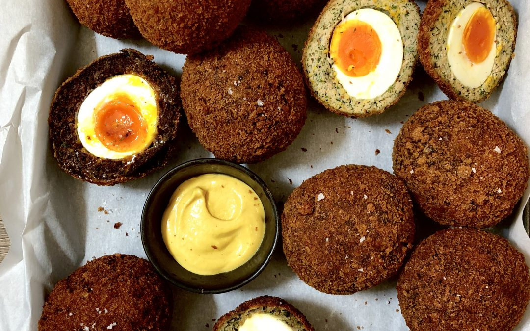 Smoked Salmon Scotch Eggs