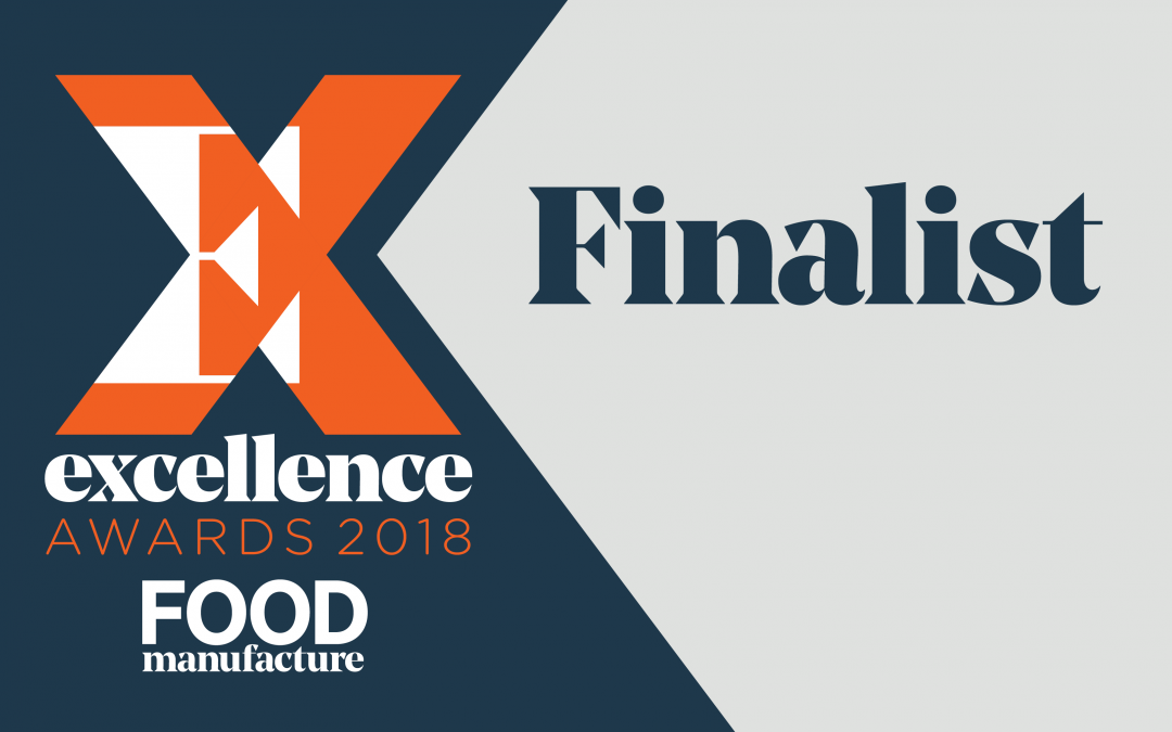Shortlisted for Ingredients Manufacturing Company of the Year