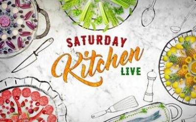 We're on Saturday Kitchen Live for British Egg Week